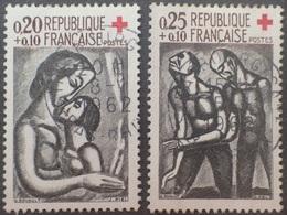 VL4380/45 - 1961 - FRANCE - CROIX ROUGE - N°1323 à 1324 ☉ - France