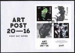 2016 Finland, Art Post FDC. - FDC