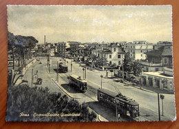 ROMA Circonvalazione Gianicolense - Tram Cartolina  Viaggiata - Transports