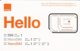 GSM WITH CHIP BELGIO ORANGE (E60.21.1 - België