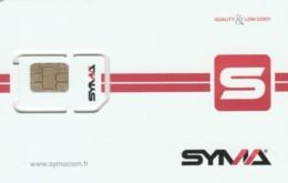 GSM WITH CHIP FRANCIA (E60.1.6 - Nachladekarten (Handy/SIM)