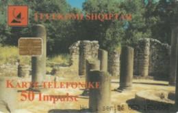 PHONE CARD ALBANIA (E60.7.5 - Albanie
