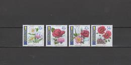 Gibraltar 2003 Michel 1050-1053 Flowers Set Of 4 MNH - Gibraltar