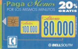 PHONE CARD ECUADOR (E60.3.5 - Equateur
