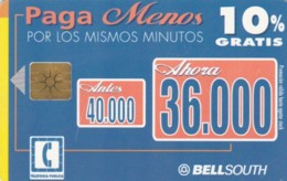 PHONE CARD ECUADOR (E60.3.6 - Equateur