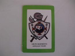 Football Futebol Grupo Desportivo Gonçalo Velho Açores Portugal Portuguese Pocket Calendar 1990 - Tamaño Pequeño : 1981-90