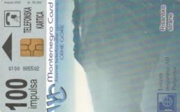 PHONE CARD MONTENEGRO (E60.23.6 - Montenegro