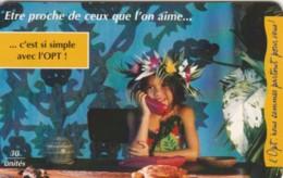 PHONE CARD POLINESIA FRANCESE (E60.17.3 - Frans-Polynesië