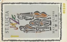 PHONE CARD ST. LUCIA (E60.16.5 - St. Lucia