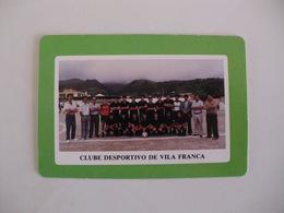 Football Futebol Clube Desportivo De Vila Franca Açores Portugal Portuguese Pocket Calendar 1990 - Tamaño Pequeño : 1981-90