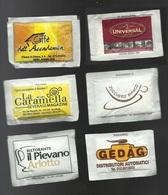 6 Bustine Zucchero Italia Varie - Lotto 23 - Azúcar