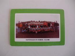 Football Futebol Santiago Futebol Clube Açores Portugal Portuguese Pocket Calendar 1990 - Tamaño Pequeño : 1981-90