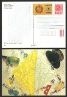 Coin FORINT - First Bank 1991 1990 - New Year Champagne HAT - HUNGARY STATIONERY POSTCARD - Kisújszállás - Monete