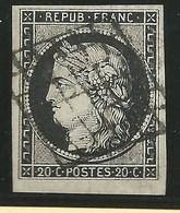 FRANCE - CLASSIQUE.  N°3. Cote. : 60€. - 1849-1850 Cérès