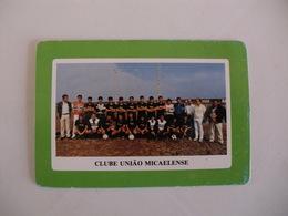 Football Futebol Clube União Micaelense Açores Portugal Portuguese Pocket Calendar 1990 - Tamaño Pequeño : 1981-90