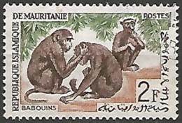 MAURITANIE N° 168 OBLITERE - Mauretanien (1960-...)