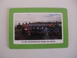 Football Futebol Clube Desportivo Rabo De Peixe Açores Portugal Portuguese Pocket Calendar 1990 - Tamaño Pequeño : 1981-90
