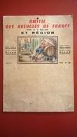 Porte Calendrier - Amitié Des Aveugles De France - Dessin De Germaine Bouret - Filiale De Côte D'Or - Circa 1955 - Calendarios