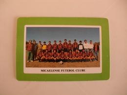 Football Futebol Micaelense Futebol Clube Açores Portugal Portuguese Pocket Calendar 1990 - Tamaño Pequeño : 1981-90