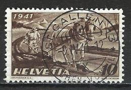 SBK 252, Mi 386 O St. Gallen 13 - Used Stamps