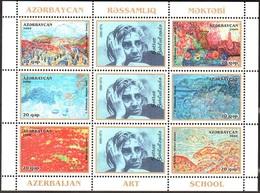 163 - Azerbaijan - 2009 - Painter S. Bakhlulzadeh - 1v - Lemberg-Zp - Azerbaiján