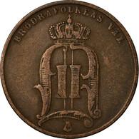 Monnaie, Suède, Oscar II, 5 Öre, 1875, TTB, Bronze, KM:736 - Sweden