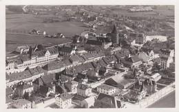 Bulle Vue D'avion En 1927. Carte Postale D'aviateur, 200 M - FR Fribourg