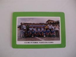 Football Futebol Clube Futebol Vasco Da Gama Açores Portugal Portuguese Pocket Calendar 1990 - Tamaño Pequeño : 1981-90