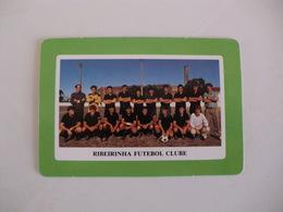 Football Futebol Ribeirinha Futebol Clube Açores Portugal Portuguese Pocket Calendar 1990 - Tamaño Pequeño : 1981-90