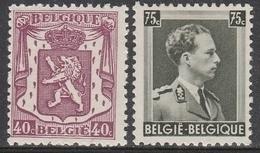 479/480 ** Klein Staatswapen - 1935-1949 Klein Staatswapen