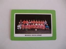 Football Futebol Benfica Águia Sport Açores Portugal Portuguese Pocket Calendar 1990 - Tamaño Pequeño : 1981-90