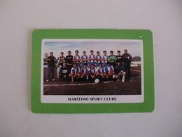 Football Futebol Marítimo Sport Clube Açores Portugal Portuguese Pocket Calendar 1990 - Tamaño Pequeño : 1981-90