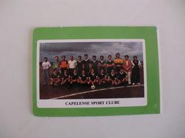 Football Futebol Capelense Sport Clube Açores Portugal Portuguese Pocket Calendar 1990 - Tamaño Pequeño : 1981-90