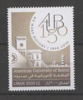 Lebanon - 2016 American University MNH__(TH-15330) - Libanon