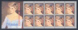 Liberia - 1998 Princess Diana Block MNH__(THB-1282) - Liberia