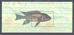 Liberia - 2000 African Fish Block MNH__(TH-1385) - Liberia