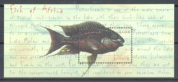 Liberia - 2001 African Fish Block MNH__(TH-1390) - Liberia