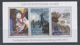 Liechtenstein - 2012 A Liechtenstein Legend Block MNH__(TH-5163) - Blocks & Kleinbögen