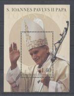 Liechtenstein - 2014 Pope John Paul II Block MNH__(TH-936) - Blocks & Kleinbögen