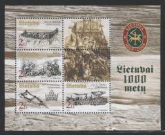 Lithuania - 2003 1000 Years Of Lithuania Block MNH__(THB-1338) - Litauen
