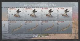 Lithuania - 2006 Baltic Sea Fauna Kleinbogen MNH__(FIL-10243) - Litauen