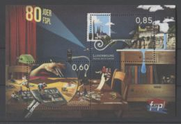 Luxembourg - 2014 Luxembourg Philatelic Associations Block MNH__(TH-15970) - Blocs & Feuillets