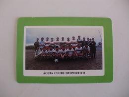 Football Futebol Águia Clube Desportivo Açores Portugal Portuguese Pocket Calendar 1990 - Tamaño Pequeño : 1981-90