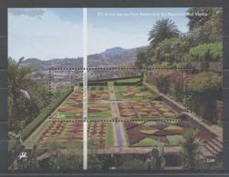 Madeira - 2010 Botanical Garden Block (1) MNH__(TH-9061) - Madeira