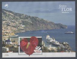 Madeira - 2015 Madeira Flower Festival Block (1) MNH__(TH-3147) - Madeira
