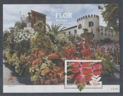 Madeira - 2015 Madeira Flower Festival Block (2) MNH__(TH-3149) - Madeira