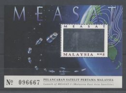 Malaysia - 1996 MEASAT 1 Block MNH__(TH-11485) - Malaysia (1964-...)