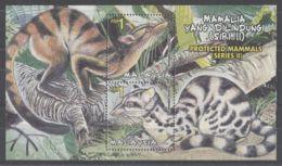 Malaysia - 2000 Protected Mammals Block MNH__(TH-8641) - Malaysia (1964-...)