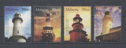 Malaysia - 2004 Lighthouses MNH__(TH-793) - Malaysia (1964-...)