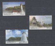 Malaysia - 2013 Lighthouses MNH__(TH-5780) - Malaysia (1964-...)